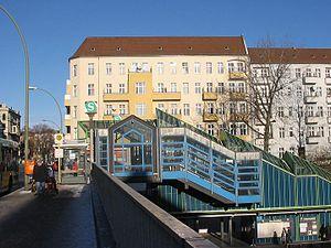 Description: Hermannstreet in Berlin-Neukölln....