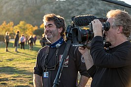 Joe Berlinger (links)
