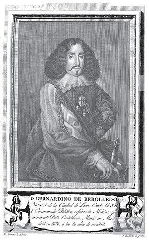 Bernardino de Rebolledo - Bernardino de Rebolledo