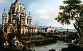 Bernardo Bellotto - Capriccio with fantasy church - private collection in Rome.jpg