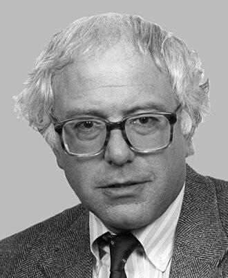 Bernie Sanders - Representative Sanders in 1991