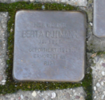 Berta Gutmann Stolperstein Osterath.PNG