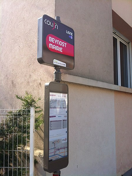 Beynost Mairie (Colibri bus stop).
