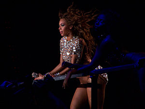 "Cater 2 U - Beyoncé performing a segment during The Beyoncé Experience in which ""Cater 2 U"" was included."