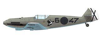 Messerschmitt Bf 109 variants - Messerschmitt Bf 109C-1, 6-47, 1.J/88 Legion Condor, Spain, Spring 1938