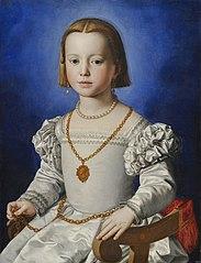 Portrait de Bia de' Medici