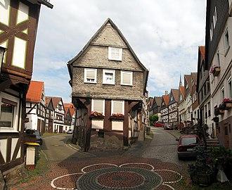 Biedenkopf - Timberwork in Biederkopf