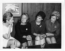 Billington; Betty Naomi Goldstein Friedan (1921-2006); Barbara Ireton (1932-1998); and Marguerite Rawalt (1895-1989).jpg