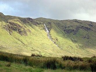 Blue Stack Mountains - Image: Binnasruell, Croaghgorm geograph.org.uk 954574