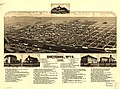 Bird's eye view of Cheyenne, Wyo. county seat of Laramie Co. 1882. LOC 75693047.jpg