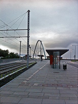 Hvordan komme seg til Birkelandsskiftet Terminal B med offentlig transport - Om stedet