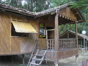Bisaya (Borneo) - The rehabilitation of a traditional Bisaya house in the Heritage Village of Kota Kinabalu, Sabah.
