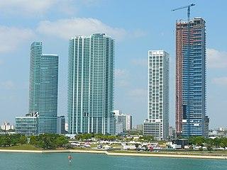 Neighborhood of Miami in Miami-Dade County, Florida, United States