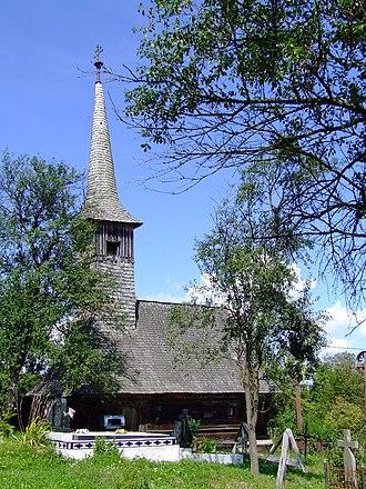 Letca - Image: Biserica din Soimuseni