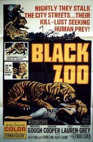 Black Zoo - film poster by Reynold Brown