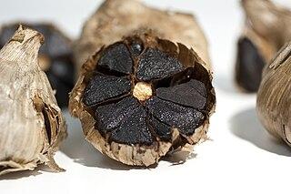Black garlic Aged garlic