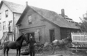 Tatamagouche - George Douglas, blacksmith (1900)