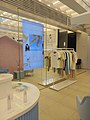 Blanc & Eclare flagship store, promotional screen and displays.jpg