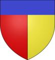 Blason chemeteau poilleux mariage 1824.png