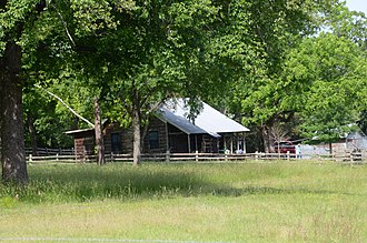National Register of Historic Places listings in Faulkner County, Arkansas - Image: Blessing Farmstead