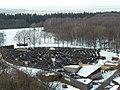 Blick vom Baudouinturm auf das Labyrinth auf der niederländischen Seite - panoramio.jpg