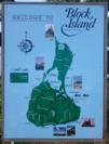 Block Island welcome sign and map.png