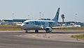 Blue Air Boeing 737-400 YR-BAE Fiumicino Airport.jpg