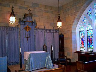 Blue Chapel (Fordham University) Church in New York City, United States