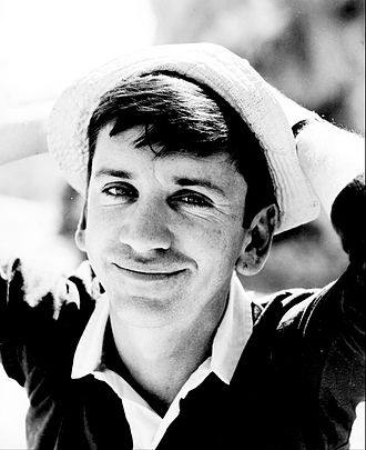 Bob Denver - Denver on set of Gilligan's Island