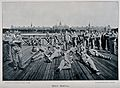Boer War; soldiers relaxing by Southampton Water with a view Wellcome V0015640.jpg