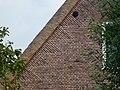 Boerderij.-'s-Gravenbroekseweg 19.-Vlechtingen in de voorgevel.-Reeuwijk.-Zuid-Holland..JPG