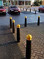 Bollards, Exebridge Centre, Exeter - geograph.org.uk - 1070119.jpg