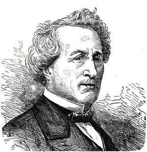 Louis Bernard Bonjean - Bonjean from G. Martiny de Riez, Histoire illustrée de la guerre civile à Paris, Laon, Deneuville, 1871