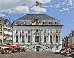 Bonn Altes Rathaus am Markt (tone mapping, retouched)
