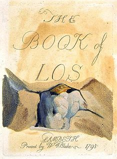 <i>The Book of Los</i> book by William Blake