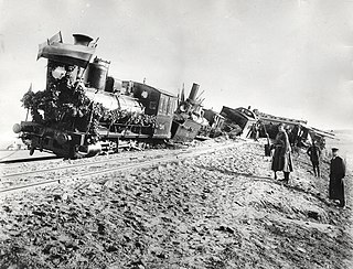 Borki train disaster