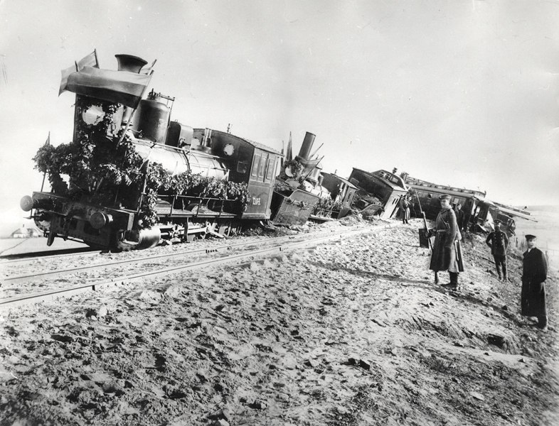 Borki train disaster 1
