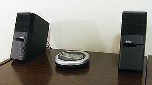 English: Photograph of Bose MediaMate computer...