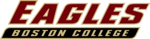 Green Line Rivalry - Image: Boston College Eagles wordmark
