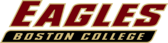 1942 Boston College Eagles football team - Image: Boston College Eagles wordmark