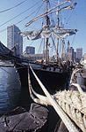 Boston waterfront, with Brig Beaver (8615909393).jpg
