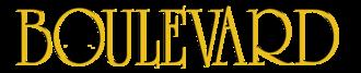 Boulevard (New York-based magazine) - Image: Boulevard Logo new