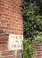 Boundary stone, Exeter - geograph.org.uk - 709645.jpg