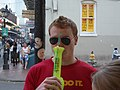 Bourbon Street French Quarter 5 Months Before Katrina - All Kinds of Film.jpg