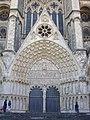 Bourges - cathédrale Saint-Étienne, façade ouest (05).jpg