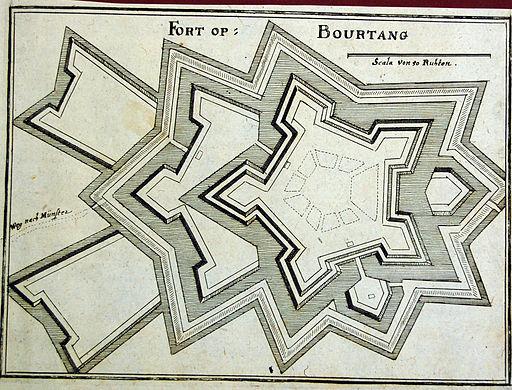 Bourtange 1657 Merian