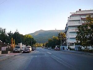 Boyana - A street in Boyana
