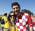 Brazil and Croatia match at the FIFA World Cup (2014-06-12; fans) 08.jpg
