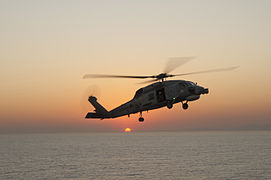 Brazilian helicopters conduct deck landing qualifications aboard PCU America 140804-N-LQ799-155