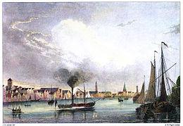 Bremen Weserseite c1840.jpg